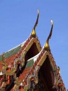 Techos de Wat Pho