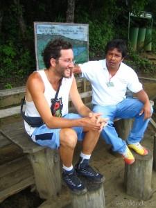 El amigo Santiago y el guía
