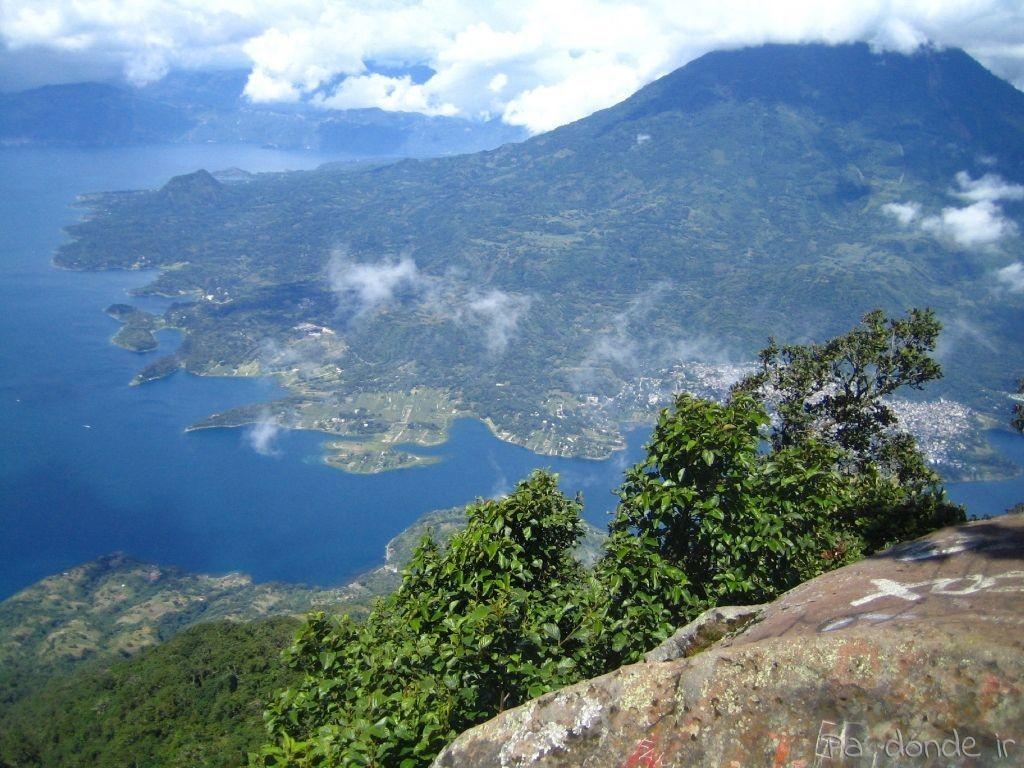 Vista desde la cima del volcán San Pedro