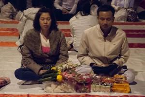 10000 monjes en Chiang Mai