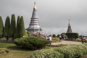 Pagodas Doi Inthanon 8