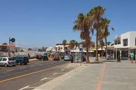 Avenida de Las Playas - Puerto del Carmen