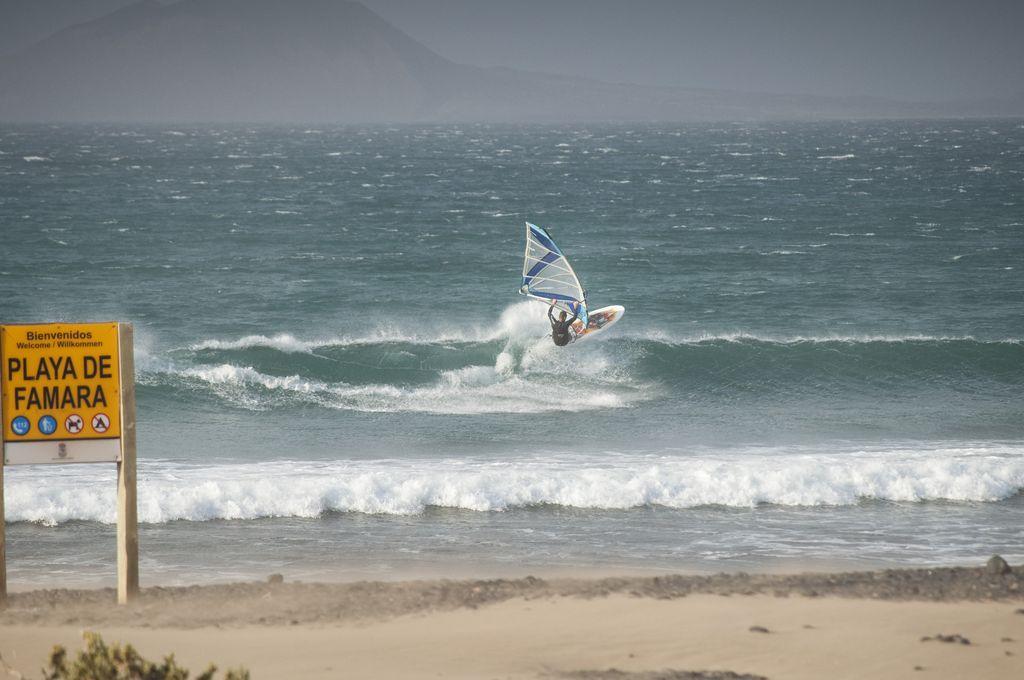 Windsurf en Famara