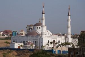 La mezquita de día