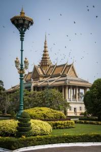 Edificio del Palacio Real de Phnom Penh