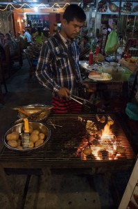 Barbacoa en Sihanoukville