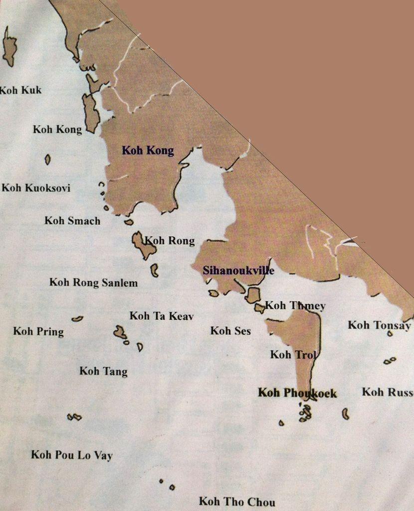 Islas de Camboya - Sihanoukville