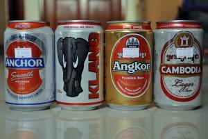Cervezas camboyanas