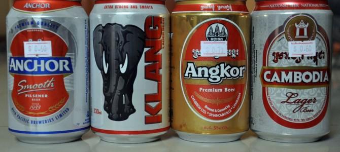 Cervezas de Camboya: la cata oficial