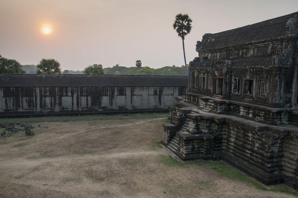 Atardecer en Angkor Wat 1