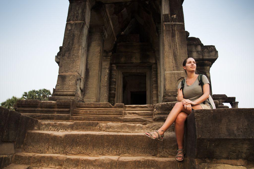 Atardecer en Angkor Wat 6