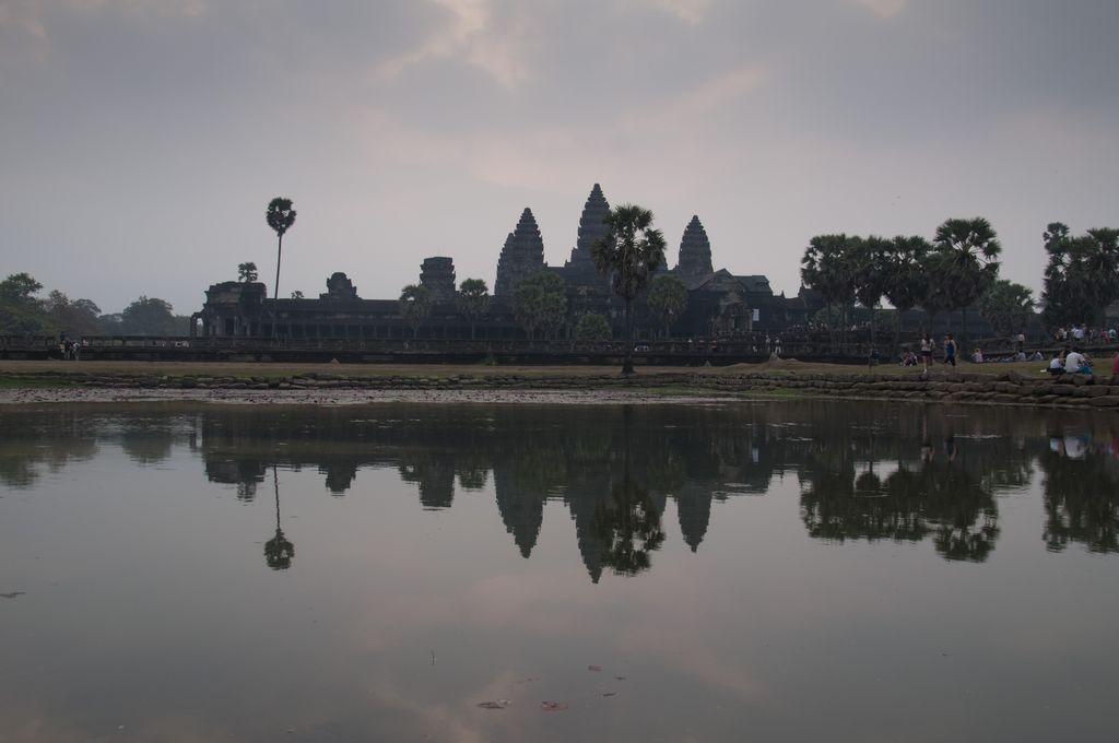 Amanecer en Angkor Wat 2