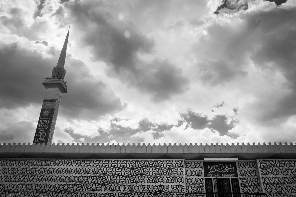 Mezquita Nacional de Kuala Lumpur