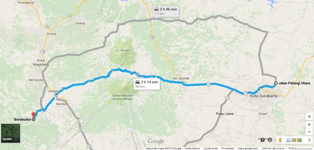 Borobudur ida y vuelta