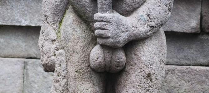"""Los templos """"eróticos"""" del volcán Lawu en Java"""