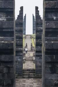Puertas de Candi Cetho