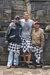 El ya rutinario photocall con los indonesios