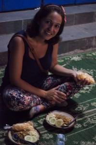 Comida callejera en Solo - Surakarta