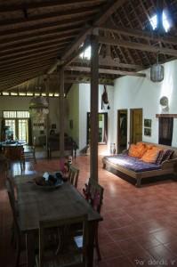 Casa tradicional javanesa en Solo