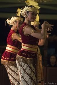 Danza tradicional javanesa en Mangkunegaran