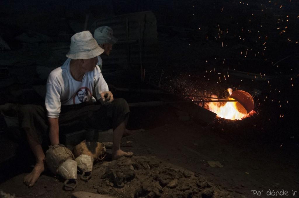 Metiendo el bronce en el fuego