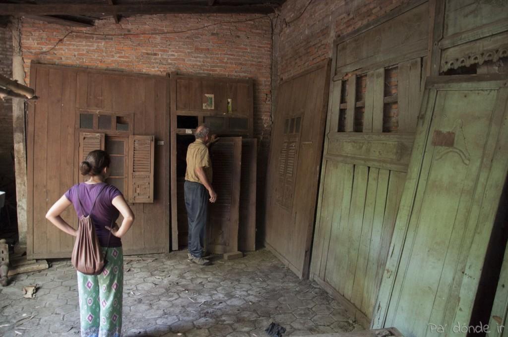 Estructuras de fachadas tradicionales javanesas