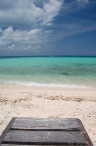 Aguas cristalinas del Caribe