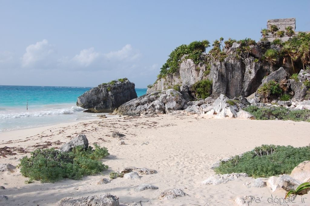 Ruinas Maya de Tulum 2