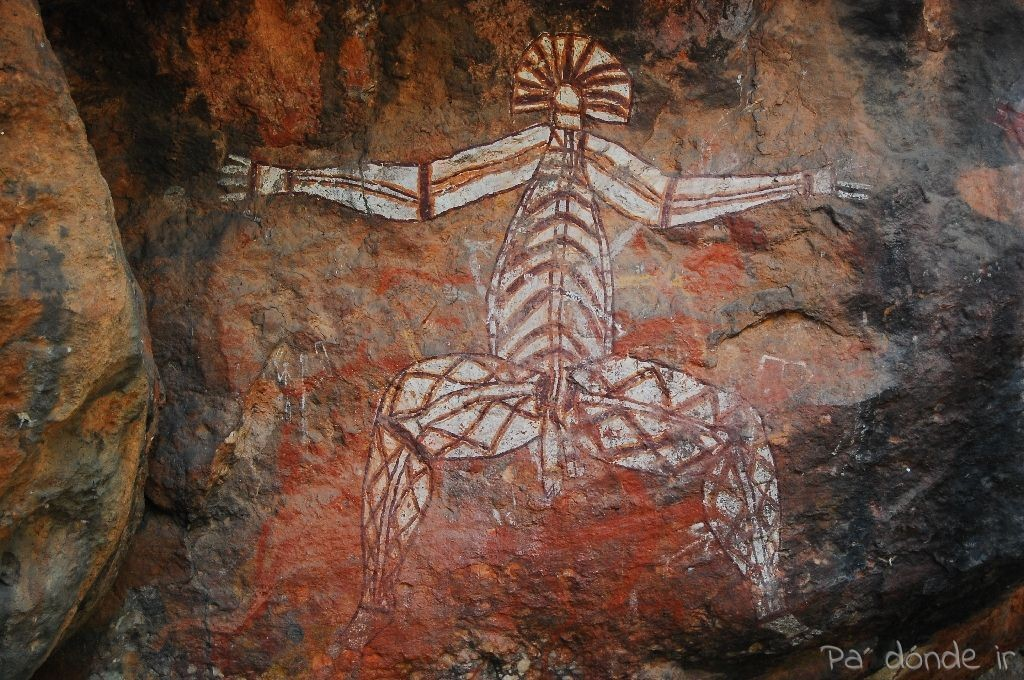Pinturas rupestres en Darwin 2