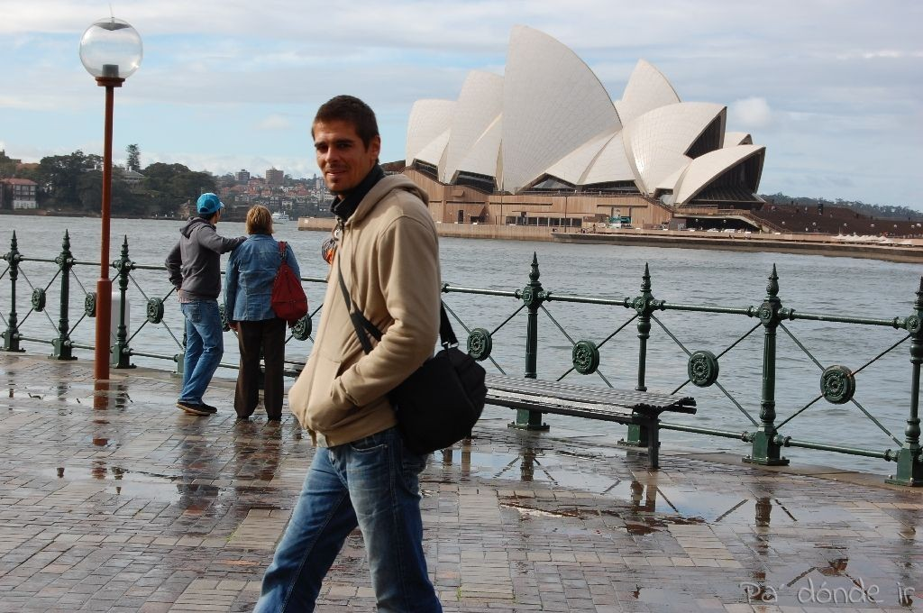 Paseando por la bahía de Sydney