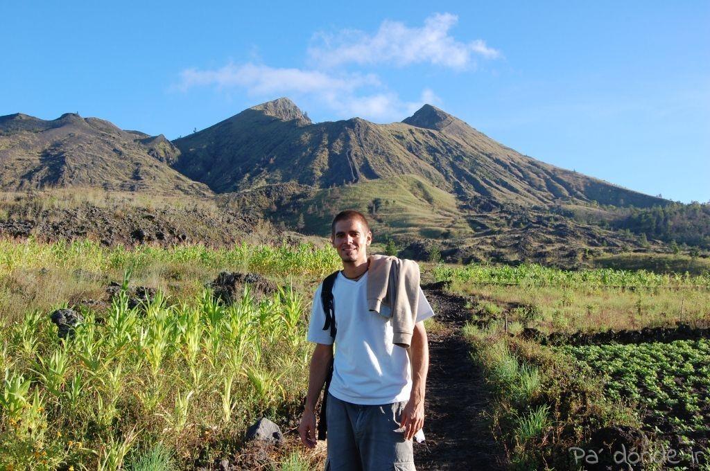 El volcán Batur y yo