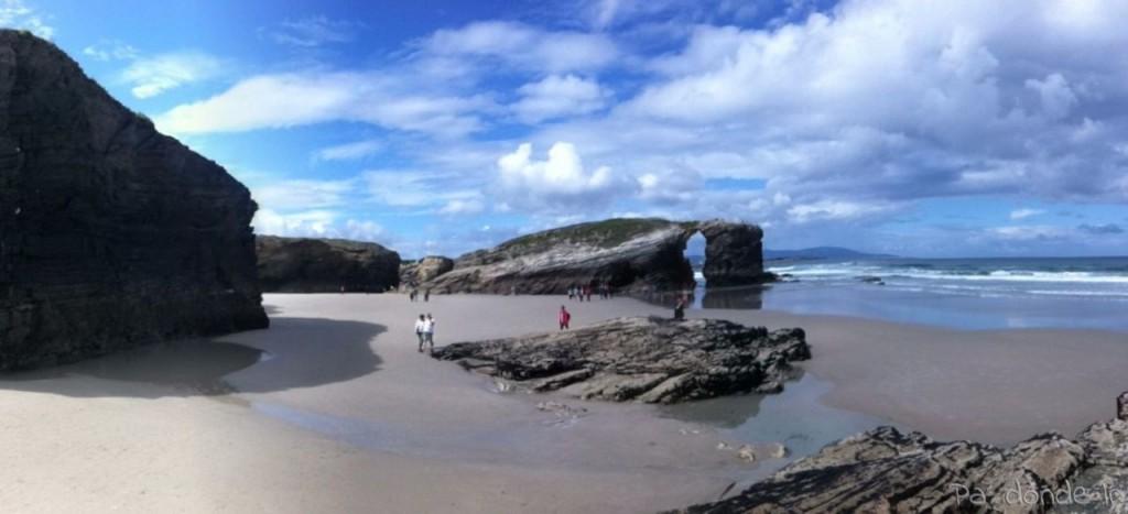 Playa de Las Catedrales en Lugo 2
