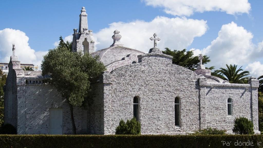 Ermita en la isla de la Toja