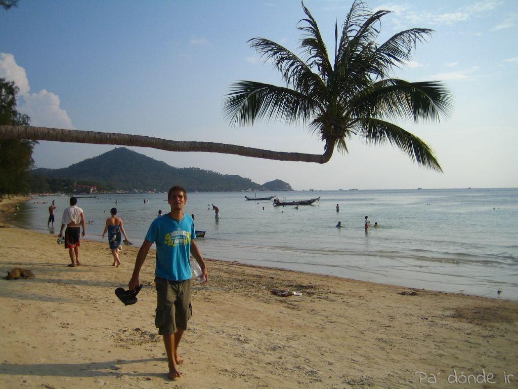 Playa paradisiaca en Koh Tao