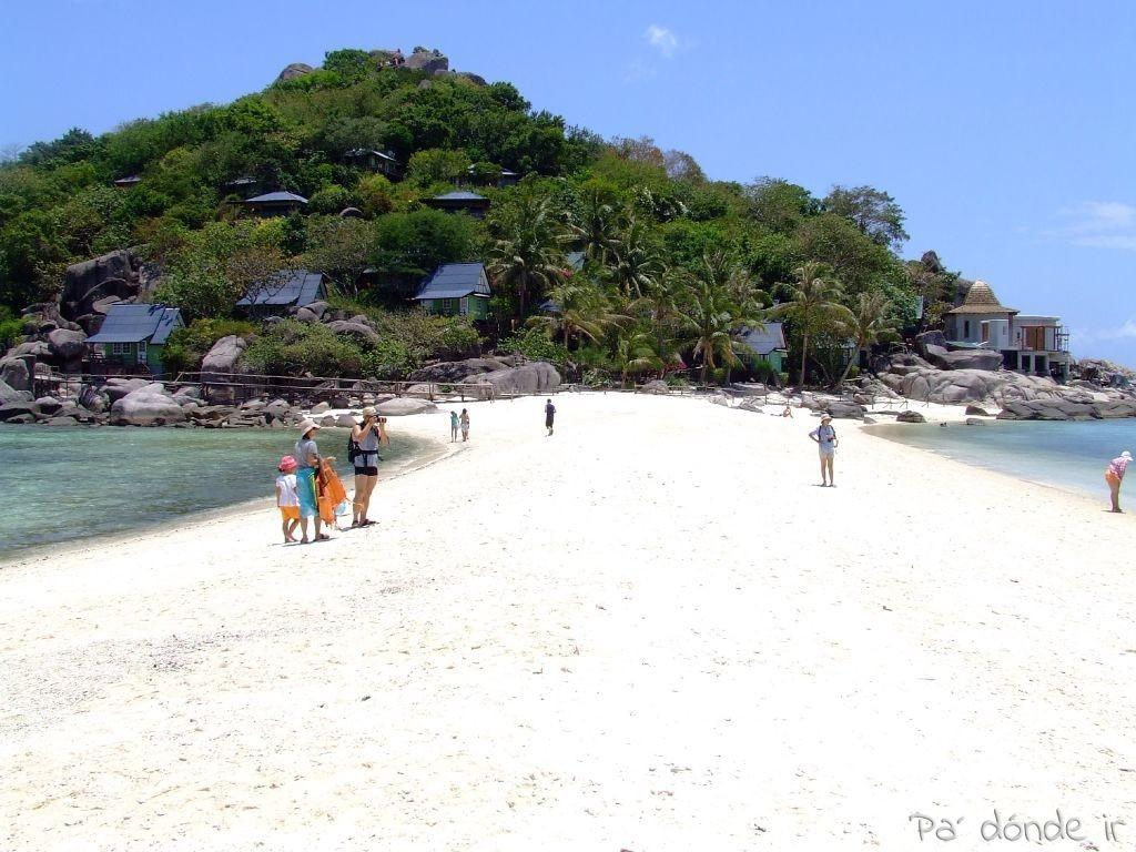 Isla cerca de Koh Tao