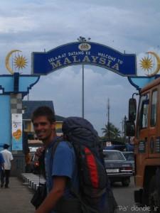 Entrada en Malasia