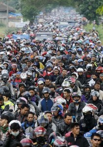 Motos en Indonesia