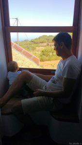 Con Arún en la casa rural