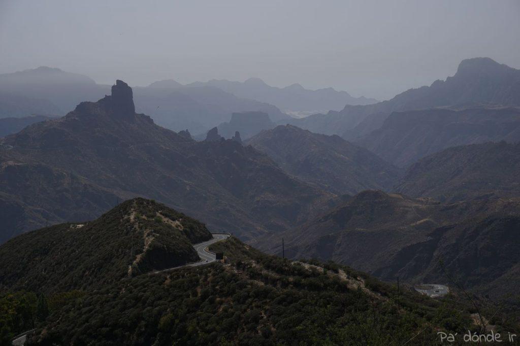 Vistas del Roque Bentayga